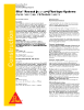 Sika Reemat and Sika Flexitape Systems