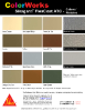 Sikagard FlexCoat ATC Color Chart
