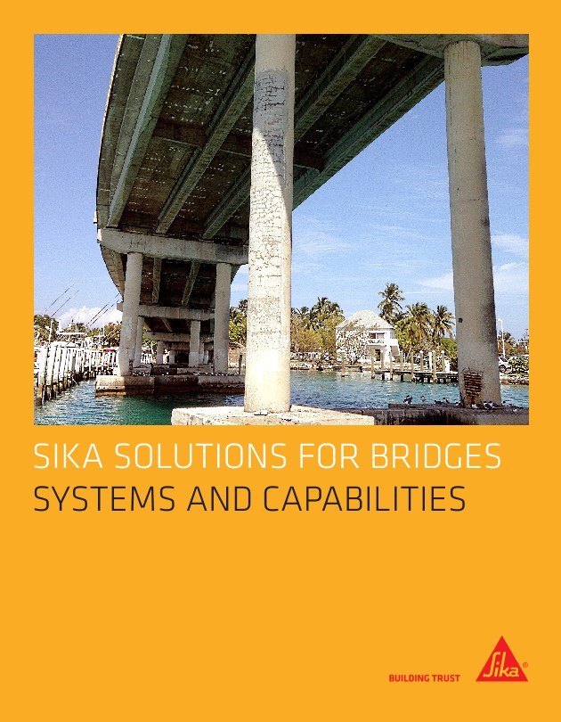 Download as a PDF: Sika's Solutions for Bridges