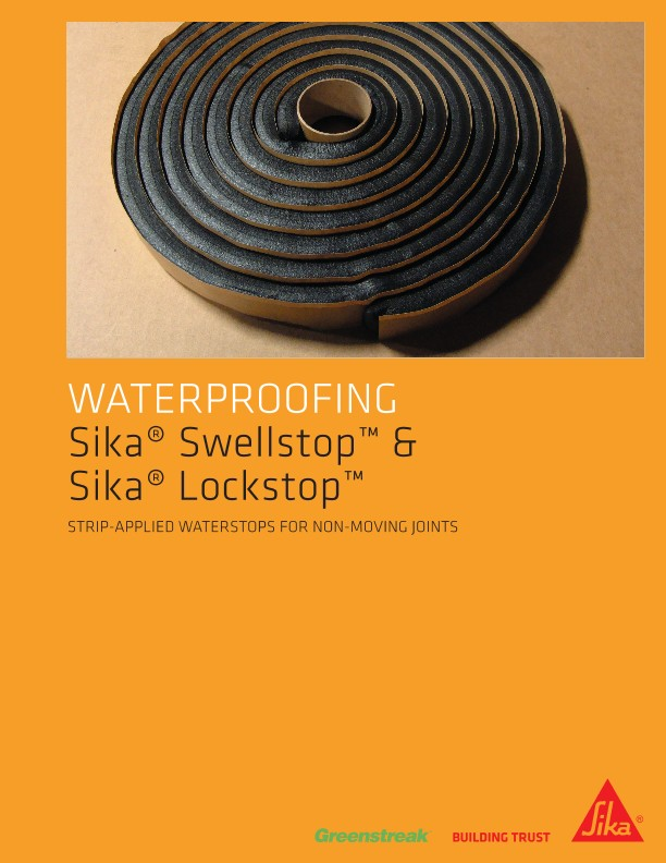 Sika Swellstop and Sika Lockstop Brochure