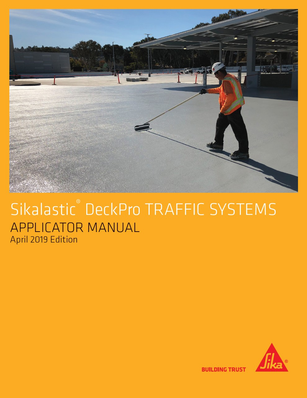 Click here to view the Sikalastic DeckPro Applicator Manual (PDF)