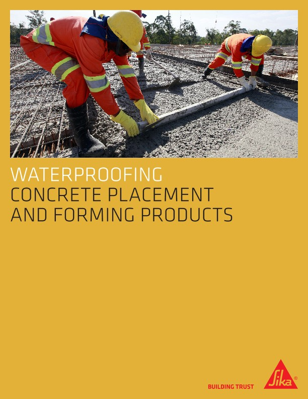 Concrete Accessories Brochure