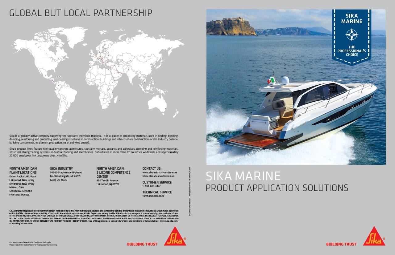 Sika Marine Product Application Solutions