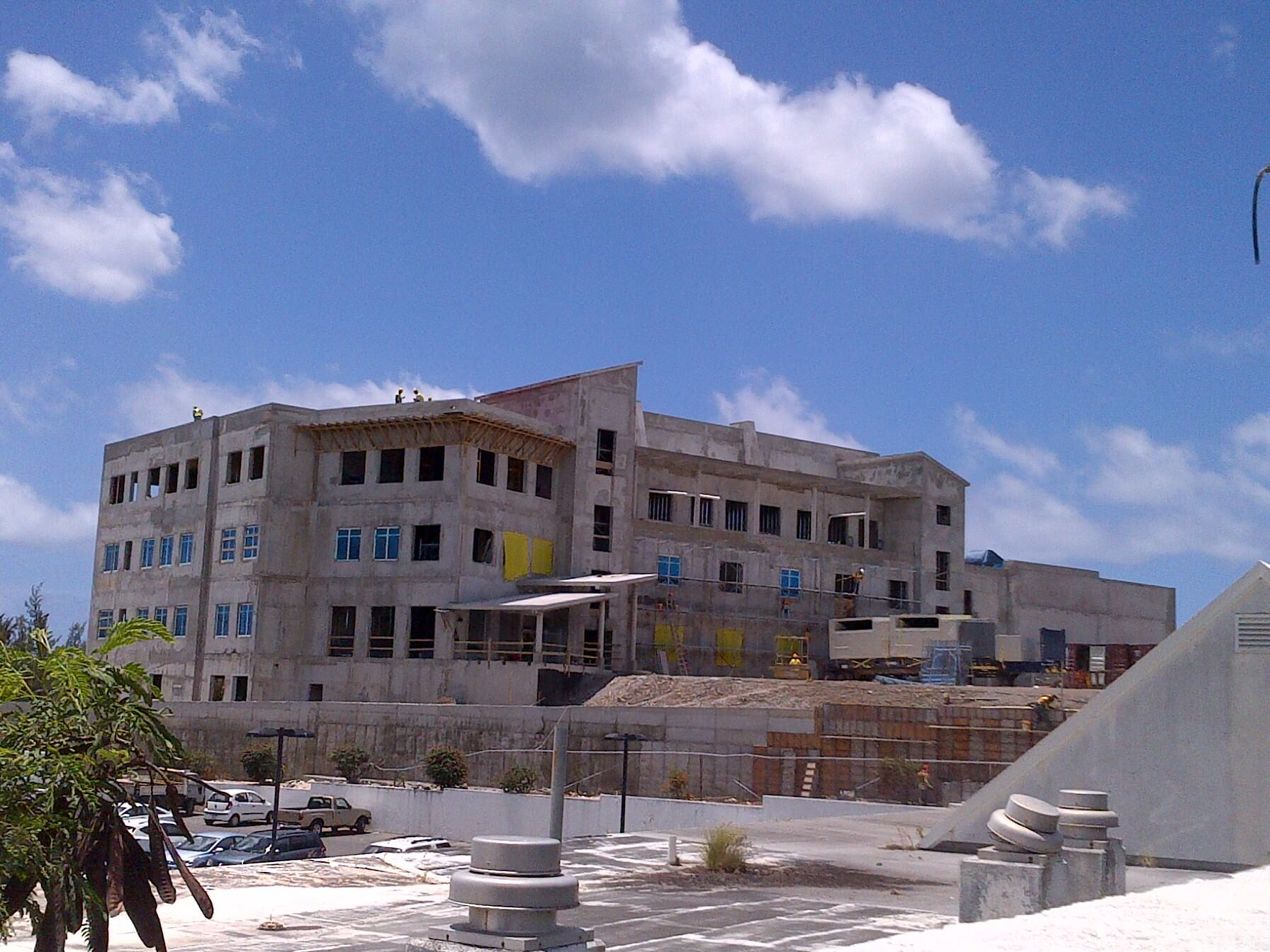 American University of Caribbean under construction