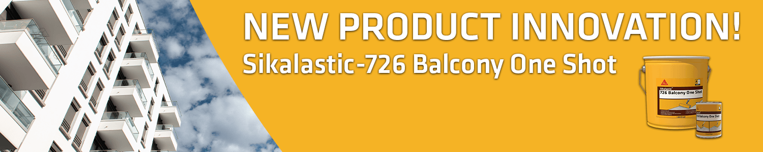 New Product Innovation - Sikalastic 726 Balcony One Shot Advertisement